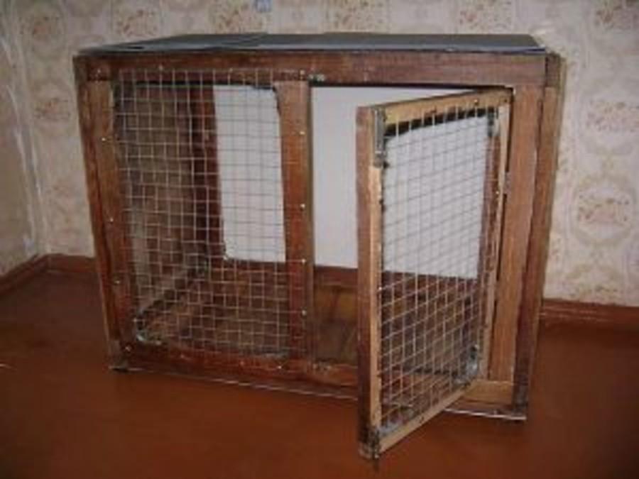 Клетки для собак своими руками с фото